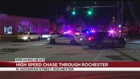 Charges filed in high-speed chase through Rochester
