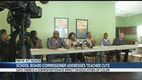School board commissioner addresses RCSD teacher cuts
