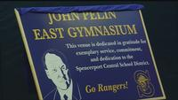 Spencerport dedicates gym, but loses to Schroeder