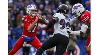 Ravens clinch AFC playoff berth with 24-17 win over Bills