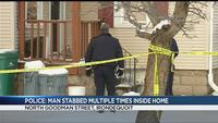 Police: Man stabbed multiple times inside home on North Goodman Street