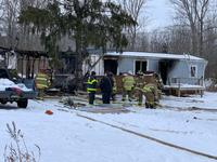 Homeowner suffers injuries in late-morning Brockport fire