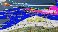 First Alert Weather Snapshot: Winter Weather Advisory, Lake Snow Warnings into Thursday
