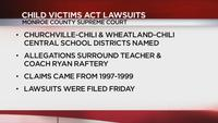 2 local school districts face lawsuit alleging sex abuse by former coach, teacher