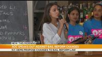 Ocasio-Cortez: 'slow down' bail reform