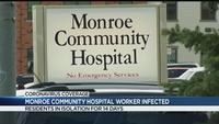 Monroe Community Hospital staff member tests positive for COVID-19