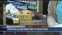 Wegmans allowing employees to wear masks, increasing rate of pay