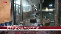 Looting extends out of downtown