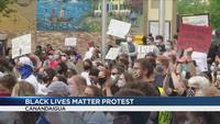 Black Lives Matter protest held in Canandaigua