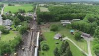 Deputies investigating train derailment near Letchworth State Park