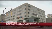 Monroe County Hall of Justice closes at noon on Monday