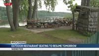 Outdoor restaurant seating to resume Thursday under Phase Two