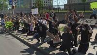 Second protest at Hall of Justice in Rochester remains peaceful
