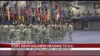 Troops from Upstate NY head to Washington DC