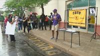 Black Lives Matter rally focuses on labor movement