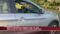 Man faces new charges following car break-ins at Holy Sepulchre Cemetery