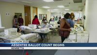 Monroe County Board of Elections wraps up day 1 of absentee ballot counting