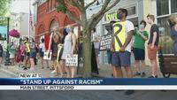 Pittsford residents 'Stand Up Against Racism'