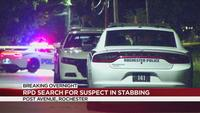 RPD searching for suspect in stabbing on Myrtle Street