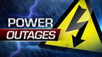 More than 1,600 without power in Monroe County