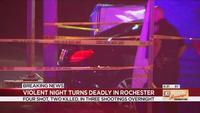 4 shot, 2 dead after 3 shootings in Rochester Thursday night