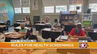 Rules for health screenings explained as schools wait on state reopening approval