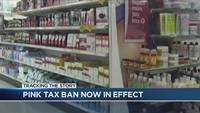 Cuomo's pink tax ban goes into effect Wednesday
