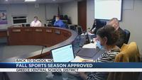Greece Board of Education votes to have fall sports season