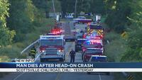 Man dies after crash on Scottsville-Chili Road