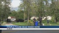 Orleans County couple found dead inside their home