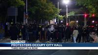 Protesters demand justice, occupy Rochester City Hall for third night