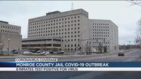 8 inmates at Monroe County Jail test positive for COVID-19