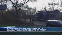 Gates Police: Garbage truck chase ends in Perinton