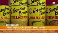Good Question: What happened to Grandma Brown's Baked Beans?