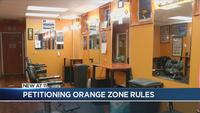 Rochester barbershop owner petitioning Orange Zone rules