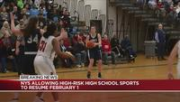 NY allowing high-risk high school sports to resume Feb. 1