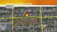 RFD: 1 injured, 4 displaced after house fire on Avenue D