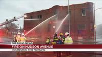 Rochester Fire crews investigating 'suspicious' two-alarm fire on Hudson Avenue